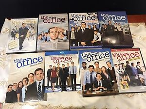 The Office Seasons 1  - 7 and Overtime