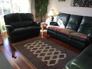 Two x two seat Pegar Furniture leather couches/sofas Dingley Village Kingston Area Preview