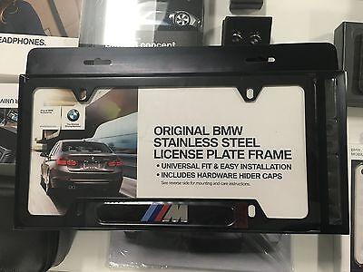 BMW Black M License Plate Frame OEM 82120010404