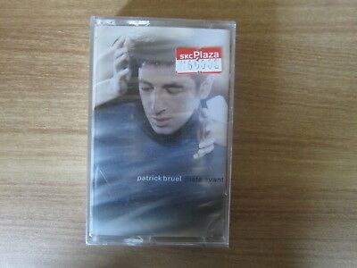 PATRICK BRUEL - JUSTE AVANT Korea Edition Sealed Cassette Tape