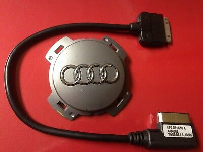 AUDI Music Interface AMI iPod®Nano® Cable MDI 30-PIN Adapter Charger 4F0051510A Ipod Nano Interface