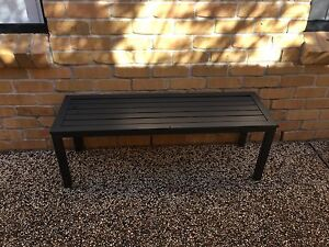 Metal Charcoal bench seat Salamander Bay Port Stephens Area Preview