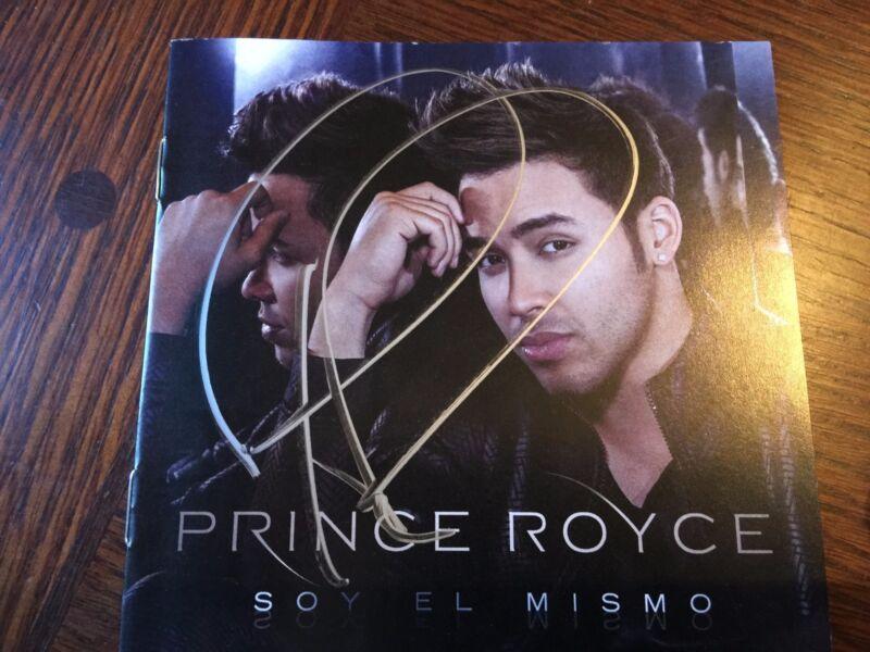 Prince Royce Five Album Autographed Rare CD Signed