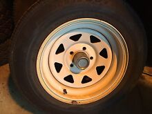 """Used sunraysia wheels 15"""" 5 114.3 ford toyota hilux rims trailer Waterford Logan Area Preview"""