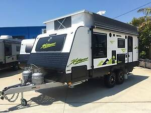 2016 REGENT XTREME OFFROAD POP TOP ENSUITE SHOWER TOILET CARAVAN Clontarf Redcliffe Area Preview