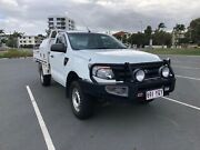 2013 Ford Ranger PX XL Cab Chassis 6 Speed Turbo Diesel 2.2 Southport Gold Coast City Preview