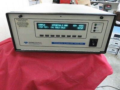 Teledyne 400e O3 Photometric Analyzer