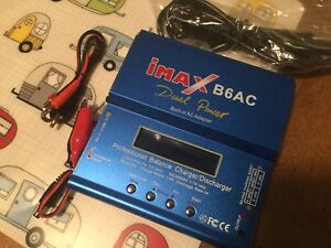 Chargeur batteries hobby Imax BAC dual (dc et ac120)