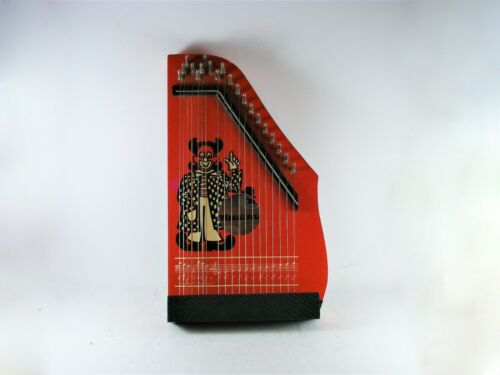 Small Vintage Zither Music Instrument