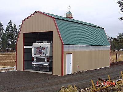 Prefab Steel Quaker Barn Building Many More Sizes