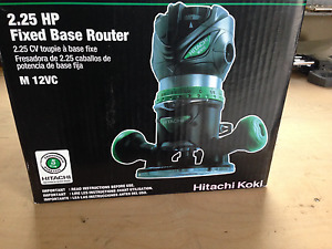 HITACH KOKI FIXED BASE  ROUTER 2.25HP