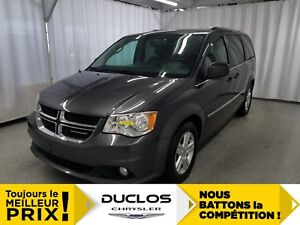 2017 Dodge Grand Caravan Crew Plus*CAMÉRA*NAV*CUIR*DVD*