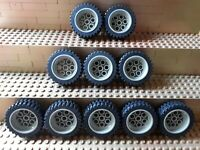 LEGO City System Technik Felgen Reifen Keilriemen Tire Wheel aus Feuerwehr 8483