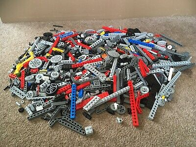 1.25KG TECHNIC LEGO Parts Bricks - In storage box with lid