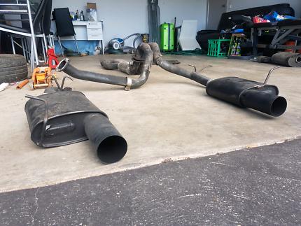 Ba/bf xr6 exhaust