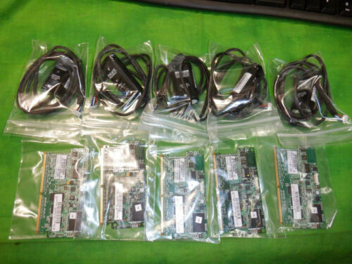 633542-001 HP Smart Array 1GB Cache 36 inch cord w/capacitor 654873-003 LOT OF 5