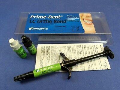 Dental Light Cure Orthodontic Resin Adhesive Ortho Bond Kit 012-022 Prime Dent