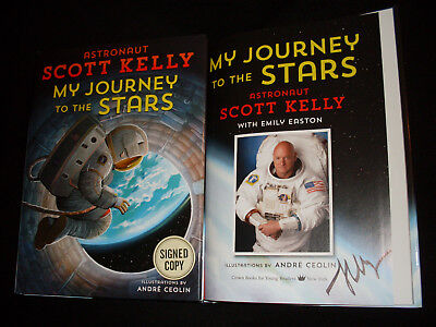 Scott Kelly signed My Journey to the Stars 1st printing hardcover