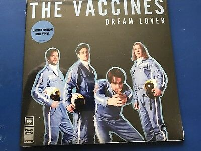 "The Vaccines - Dream Lover - Limited Edition Blue 7"" Vinyl  NEW SEALED 7"" VINYL"
