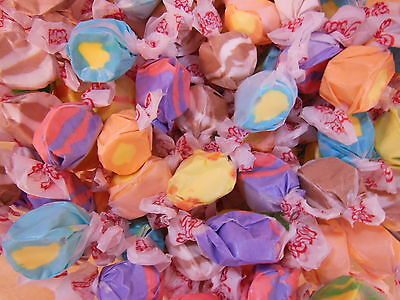 Taffy Town Salt Water TROPICAL Assortment  5 LB (2267g) Made in USA Nut - Party Town Usa