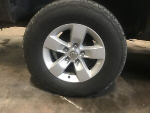 Dodge Ram Stock Alloys Rims and New Tires
