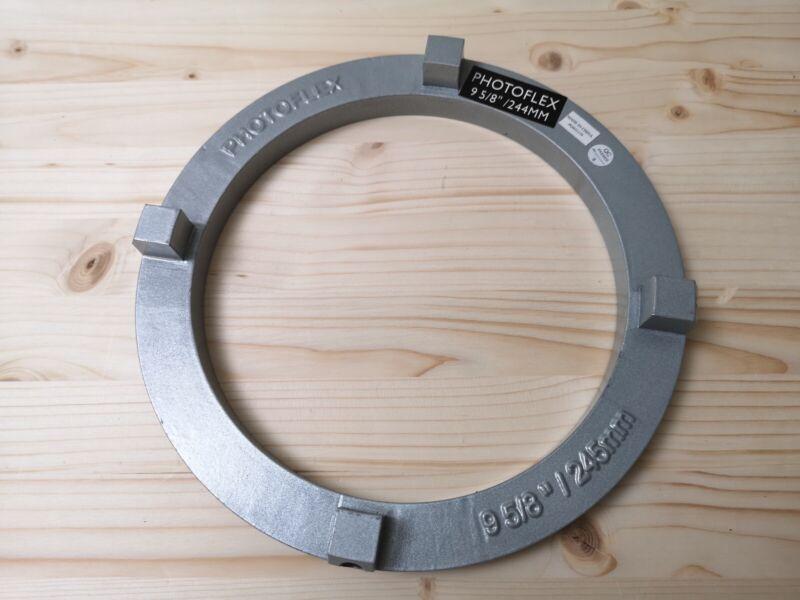 "Photoflex 9 5/8"" 244 245 mm Speed Ring for Arri HMI D12 AAdynTech JAB LED"