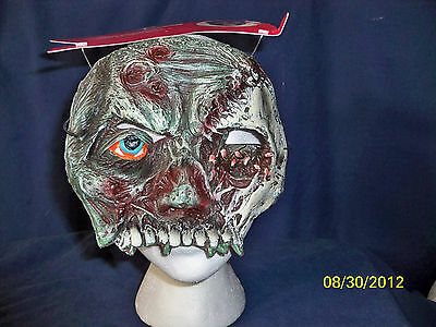 WALKING DEAD ZOMBIE CHINLESS MASK COSTUME - Zombie Mask