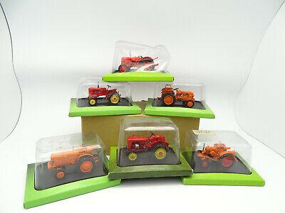 Uh Prensa 1/43 - Lote De 6 Tractores