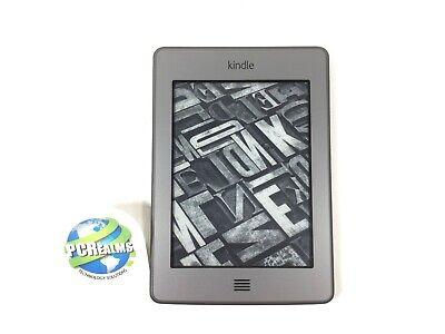 """Amazon Kindle Touch 4th Gen e-Reader (D01200) 4GB, Wi-Fi, 6"""", Graphite - B Grade"""