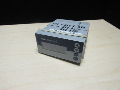 JUMO dTRANS CR 02 Compact Multichannel Transmitter/Controller