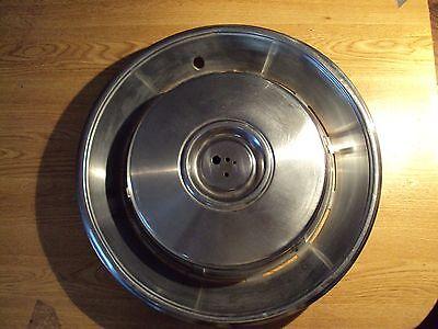 """1965 1966 1967 Vintage Cadillac Steel OEM Factory Hubcap 15 """" ELDORADO DEVILLE"""