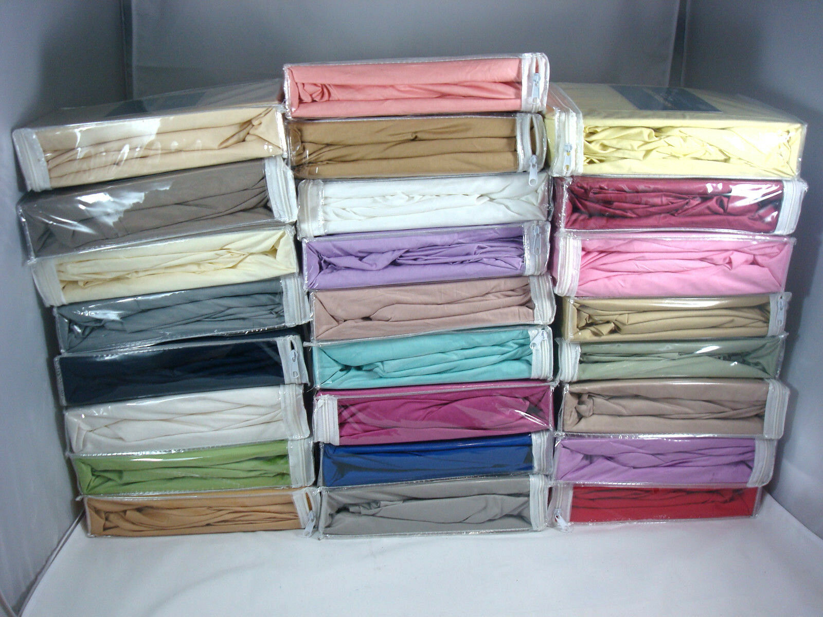 50% Cotton Super Soft Deep Pockets Fitted Sheet, 400TC  Quee