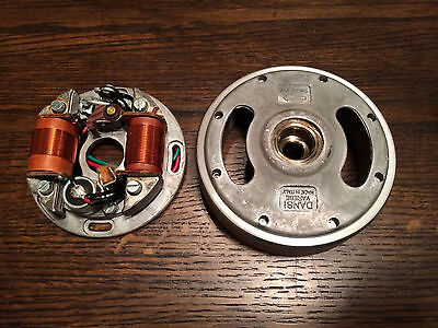 NEW COMPLETE FLYWHEEL / MAGNETO FOR BENELLI FIREBALL + DYNAMO + WARDS 450SS