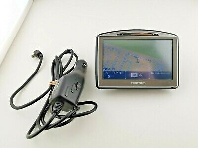 """TomTom Go 720 Portable Car 4.3"""" LCD GPS Navigator GO720 with Car Charger"""