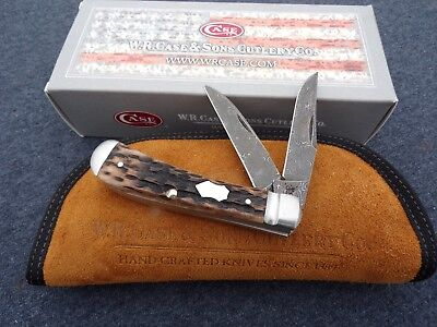 CASE XX *y TONY BOSE COLLABORATION DAMASCUS WHARNCLIFFE TRAPPER KNIFE KNIVES