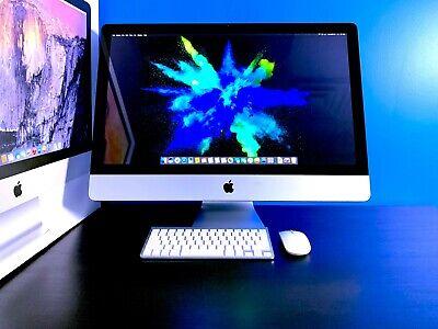 EXCELLENT Apple iMac 27 inch QUAD CORE 3.4GHZ i7 / 32GB / OS2017 / 2TB Storage