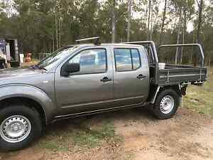 2011 NISSAN NAVARA Dual Cab Utility 4WD Morayfield Caboolture Area Preview