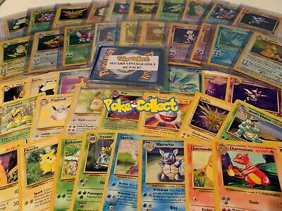Pokemon Card Lot Vintage WOTC Pack! First Generation! Possible 1st Edition Holo