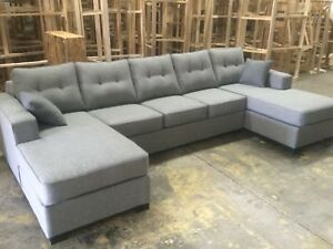Canadian Made U Shape Sectionals From Manufacturer