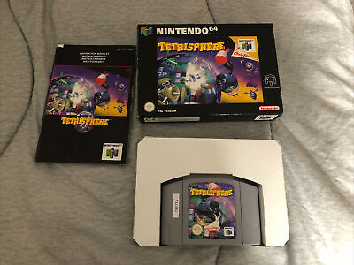 Tetrisphere Boxed With Instructions Nintendo N64 PAL