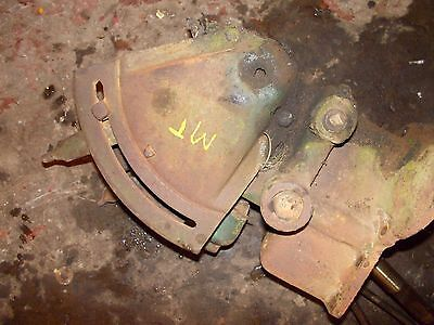 John Deere Mt Tractor Jd Hydraulic Lift Assembly Control Levers W Linkage Rods