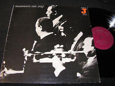 PROMINENTE DES JAZZ Miles Davis, Gabor Szabo../ DDR Reissue LP 1981 AMIGA 855083