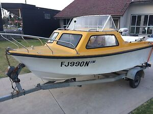 Boat and trailer for sale Bass Hill Bankstown Area Preview