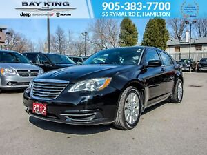 2012 Chrysler 200 ACCIDENT-FREE, AUX & USB, A/C, CRUISE CONTROL