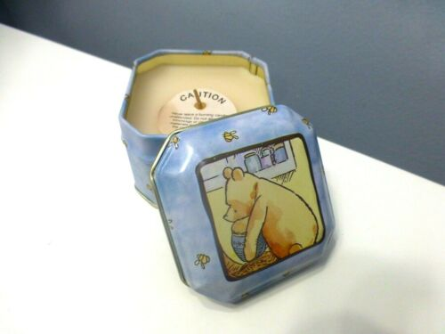 VINTAGE Classic WINNIE THE POOH SCENTED CANDLE Fragrance Honey Candle RARE HTF