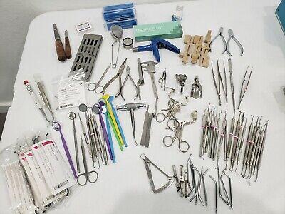 Lot Of 89 Units Of Dental Instruments Henry Schein Benco 3m Sterling Zirc