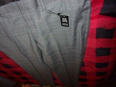 EXPRESS Extra Slim Stretch Mens Wool Dress Pants Gray Size 40x32 NWT (B64)