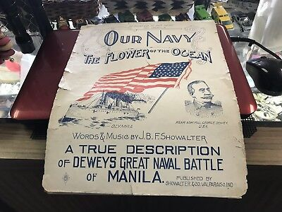 Musical Score/Admiral Dewy/Hero Of The Battle Of Manila Bay/Spanish American War