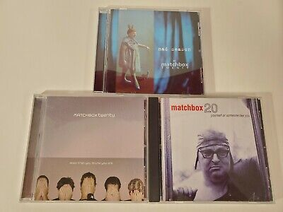 Matchbox Twenty CD Lot - Mad Season - More Than You Think - Yourself Or Someone