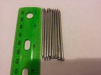 2.5 Finish inch Nails 8 qty 2 1/2 in hardware paneling nail 8D Bright - 8d Bright Finish Nails
